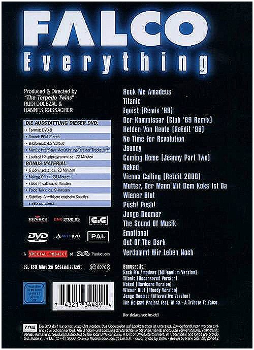 DVD Everything back